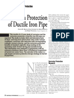 Corrosion Protection of Ductile Iron Pipe