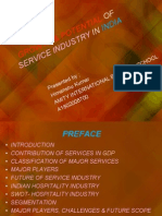 Growth & Potential of Service Industry in India_2010