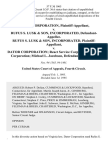 Dator Corporation v. Rufus S. Lusk & Son, Incorporated, Rufus S. Lusk & Son, Incorporated v. Dator Corporation React Service Corporation Reach Corporation Michael L. Jacobson, 57 F.3d 1065, 4th Cir. (1995)