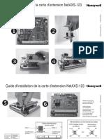 NetAXS123 Add-On Board Install Guide Francais 800-06195