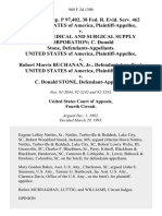 Fed. Sec. L. Rep. P 97,402, 38 Fed. R. Evid. Serv. 462 United States of America v. United Medical and Surgical Supply Corporation C. Donald Stone, United States of America v. Robert Morris Buchanan, Jr., United States of America v. C. Donald Stone, 989 F.2d 1390, 4th Cir. (1993)