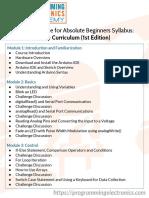 Core Curriculum 1st Edition Syllabus