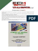 Manuale Ecm2001 v1.0