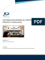 Ics Catalogue Distribution Boards and Control Panels