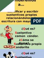 Sustantivo Propio