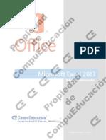 Manual Excel 2013 Básico-Intermedio