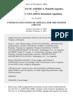United States v. Karen Grey Villarini, 238 F.3d 530, 4th Cir. (2001)