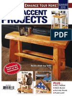 Woodworker's Journal - Summer 2015 - Home Accent Projects