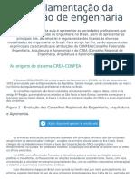 7- Regulamentação Da Profissão de Engenharia