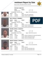 Peoria County Jail Booking Sheet for Aug. 18, 2016