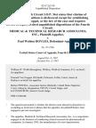 Medical & Technical Research Associates, Inc. v. Paul Weldon Boyles, 833 F.2d 310, 4th Cir. (1987)