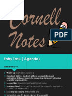 cornell notes sci method student