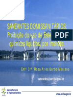 Saneants Domissanitarios Proibido Uso Esterilizantes[1]