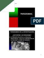 Investigacion I - Paradigmas