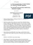 39 soc.sec.rep.ser. 181, unempl.ins.rep. (Cch) P 16930a Margaret M. Jepson v. U.S. Department of Health & Human Services, 977 F.2d 911, 4th Cir. (1992)