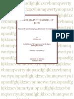 Marturia in the Gospel of John - Guillaume Smit