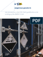 Dangerous Goods-P and I Club