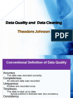 Data Quality and Cleaning (1)