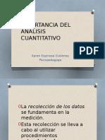 Importancia Del Analisis Cuantitativo