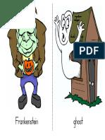 Large Halloween Words