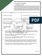 Kodak Materials License 2007