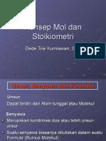 Konsep Mol Dan Stoikiometri by Dede TK Nii