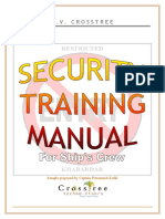 Security Training of ship