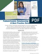 Patient Centric RelationshipMarketing-2008