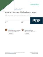 Virulence Factors of Helicobacter Pylori