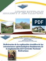 Curriculum Bolivariano REFLEXIÓN EPISTEMOLOGICA