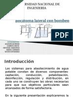 Bocatoma Lateral Con Bombeo Presentacion