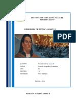 Rebelión de Túpac Amaru II.docx