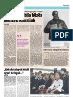 A Vizsolyi Biblia közös nemzeti kincsünk - Magyar Hírlap
