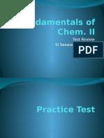 Practice Test for General Chemistry 2 Auburn University