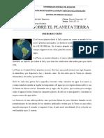 Ensayo Sobre El Planeta Tierra