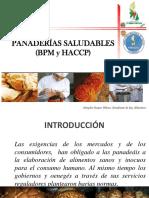 Capacitación de Panaderías Saludables. E. Vargas