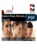 PHCC Employee Morale Motivation Teamwork PowerPoint