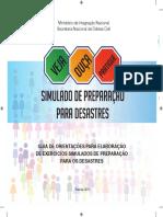 Guia de Orientação Para Elaboração de Exercícios Simulados de Preparação Para Os Desastres