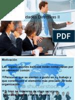 Habilidades Directivas 2 Motivacion