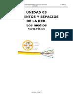 Unidad 3 - ELEMENTOS Y ESPACIOS DE LA RED.  LOS MEDIOS - Redes locales (SMR)