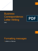Letter Writing Formats (Folder Version)