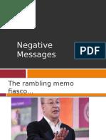 Negative Messages (Folder Version)