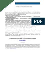 Fisco e Diritto - Corte Di Cassazione n 26312_2009