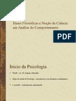 1. Bases Filosoficas e Nocao de Ciencia