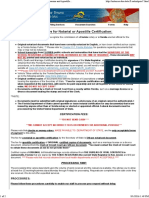 Certification Sections