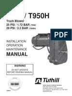 Manual T650 y T950