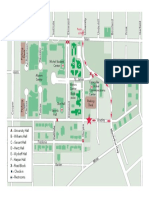 Bradley University move-in day map