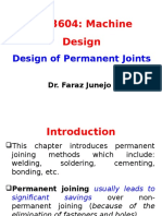 Design of Permanent Joints (2)