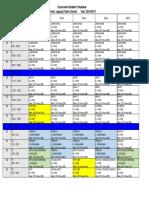 chin student schedule 2016
