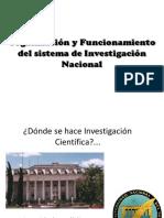 Clase Práctica -Organización y Funcionamiento Del Sistema de Investigación Nacional - Copia